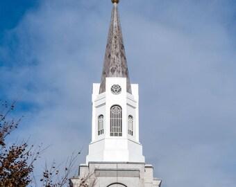 Boston Massachusetts Temple Spire