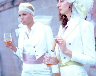 Silk Cummerbunds---'57 Retro---Amazing Silk Wedding Separates