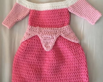 Crochet Sleeping beauty dress