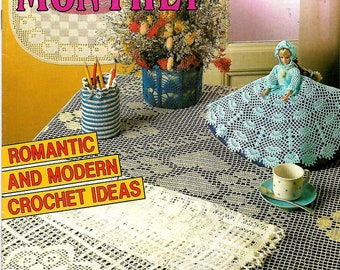 CROCHET MONTHLY 138 Vintage Magazine