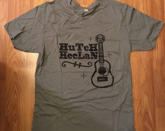 MENS M T-SHIRT Hutch Heelan Guitar