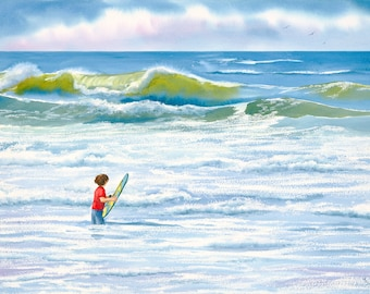 The Boy and the Wave
