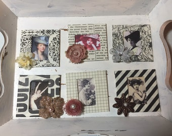 Six 2x2 in slides for altered, collage art, ATCs, journals, etc...