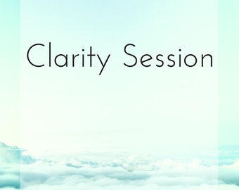 1:1 Clarity Session