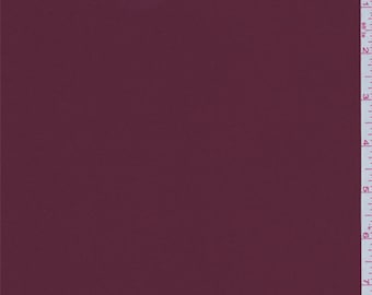 Burgundy Red Double Georgette, Fabric By The Yard