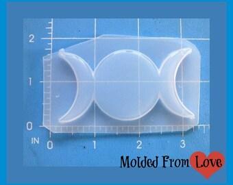 Triple Goddess Shape  Handmade Flexible  Resin  Mold