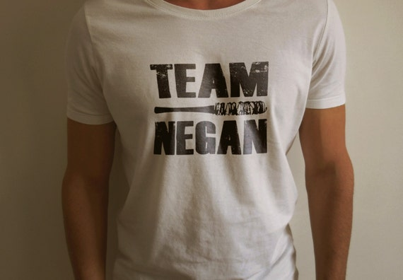 "The Walking Dead ""TEAM NEGAN"" Negan Lucille Shirt S-4XL nd Long Sleeve Available"