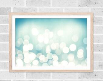 abstrait mur art l'art abstrait et grand mur nautique imprimé géométrique art géométrique bokeh photographie plage photographie océan aqua pastel teal