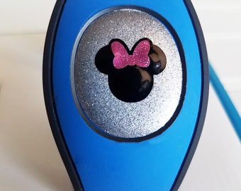 Magic Band 2.0 GLITTER VINYL Center Puck Cover Decal