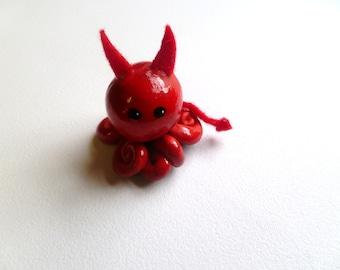 Little Octopus Devil Mini Marble Friend