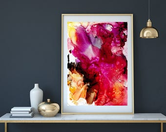 Fine Art Prints, Modern Art, Abstract painting, Home decor, Wall Art, Giclee Print