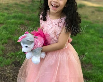 Birthday dress / Tulle Dress, Toddler dress, birthday dress, flower girl