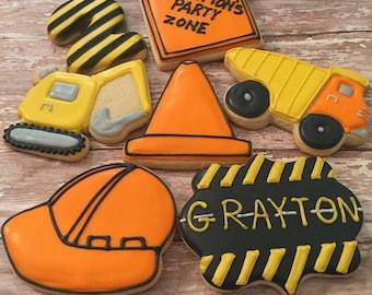 Construction Themed Cookies (1 Dozen)