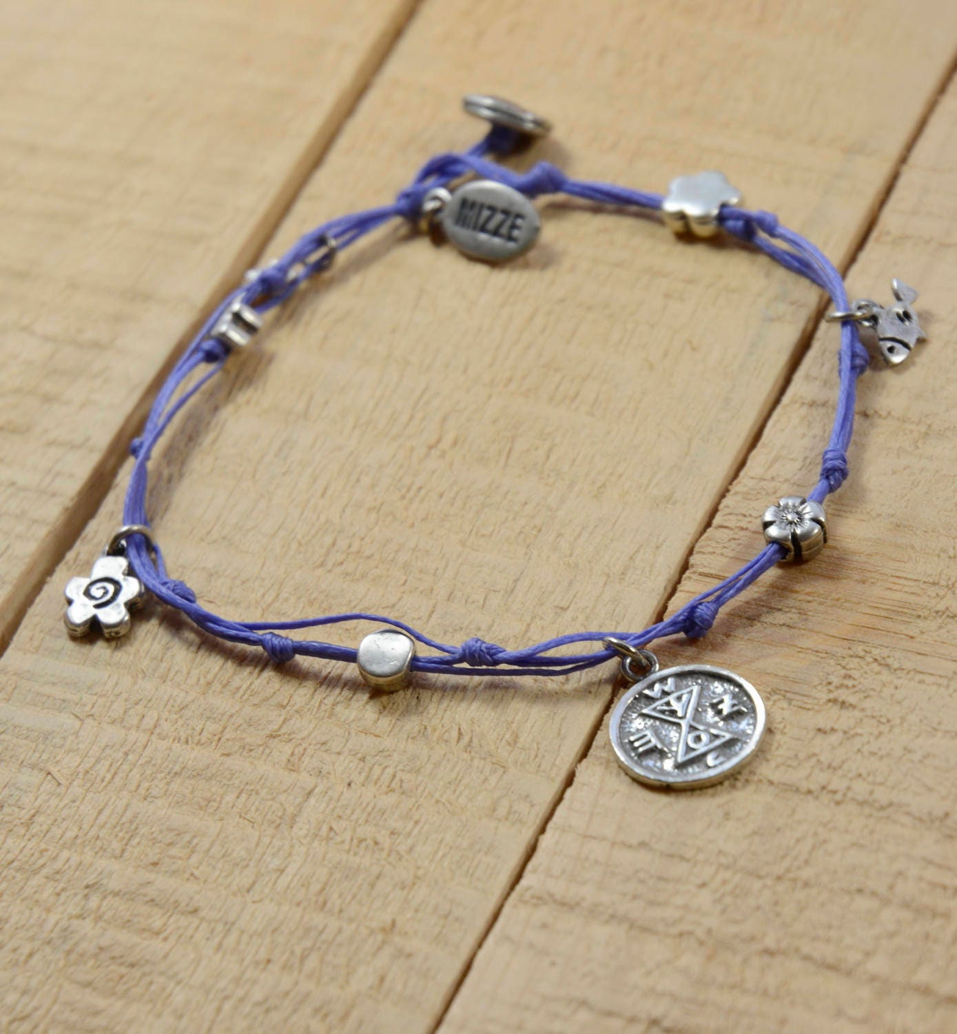 anklet product making conscious chakra image new vintage silver products