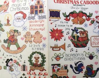 Leisure Arts - Christmas Caboodle Multiple Cross Stitch designs