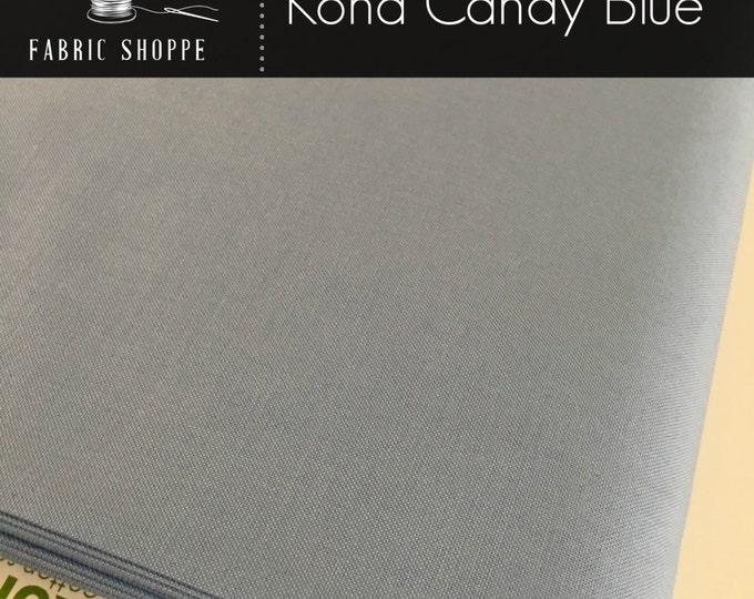 Kona cotton solid quilt fabric, Kona CANDY BLUE 1060, Blue fabric, Solid fabric Yardage, Kaufman, Cotton fabric, Choose the cut