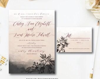 McKay Thornberry Wedding Invitations