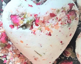 Flower bath bomb | Etsy