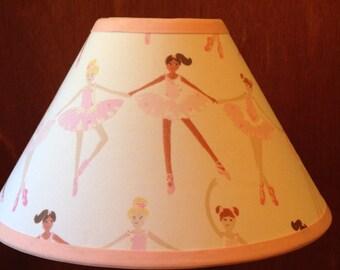 Good Ballerina Fabric Childrenu0027s Lamp Shade/Childrenu0027s Gift
