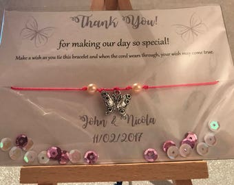 Wedding Thank You Favours