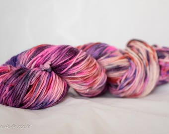 It's All Speckled Now Hand Dyed Merino Sparkle DK Yarn