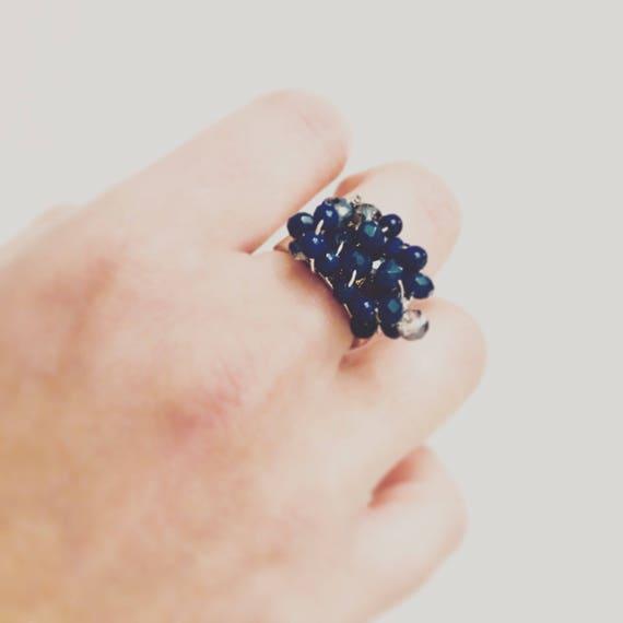Sterling Silver & Lapis Lazuli Stone Ring