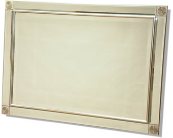 Contemporary SIlver Mirror 762 x 1067 mm (42 x 30 Inches)