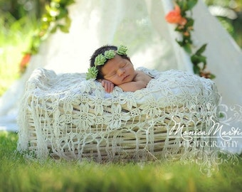 Succulent Halo Wreath Hair Crown Baby Photo Newborn Wreath Photo prop flower girl boho bride floral crown flower crown