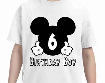 Mickey mouse birthday shirt - mickey Birthday shirt