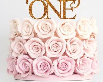 Twenty One Cake Topper Birthday Cake Topper 21st Birthday Topper Twenty First Cake Topper Happy Birthday Cake Topper Glitter
