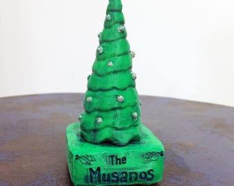 Personalized Mini Christmas Tree