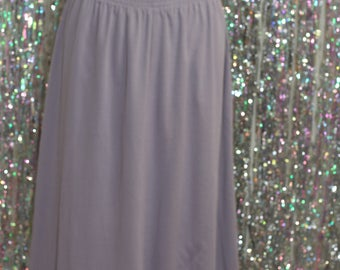 Alfred Dunner Long Lilac Purple Skirt (12P)