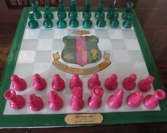 custom made chess set