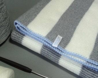 Baby blanket from the finest Italian merino wool