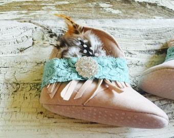 Soft  Fringe Baby Girl Boots