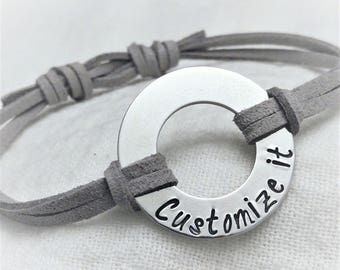 personalized img christmas lovers letters bracelet engraving colors item own my birthday custom gift make