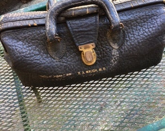 Antique Doctor buffalo bag with otoscope...FREE shipping!!!