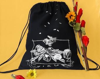 VIRGO Drawstring Backpack