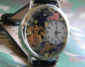 Saluting Marine Watch