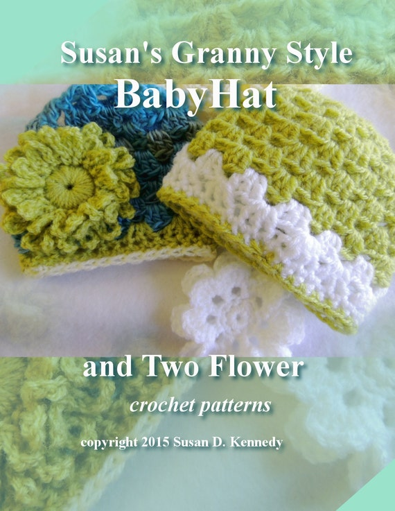 Pattern Super Fast Crochet Baby Hat In Three Sizes Plus