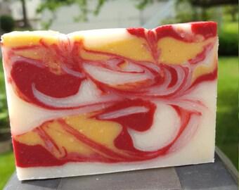 Crisp Apple Rose Soap
