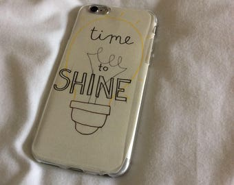 Phone case - 'Time to shine'