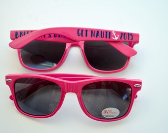 Bachelorette Bridal Party Sunglasses - Personalized - Girls Trip