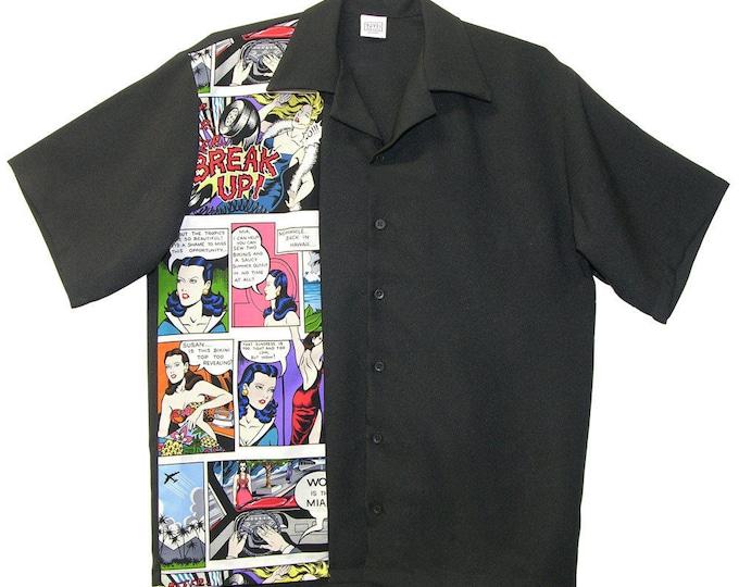 Mens Bowling Shirts - Free Shipping - Comic Strip Design