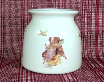Handmade Ceramic Wax Warmer / Angel Decor / Tart Warmer / Oil Warmer / Potpourri Warmer / Wax Melter / Angel Gift /  Candle Wax Warmer