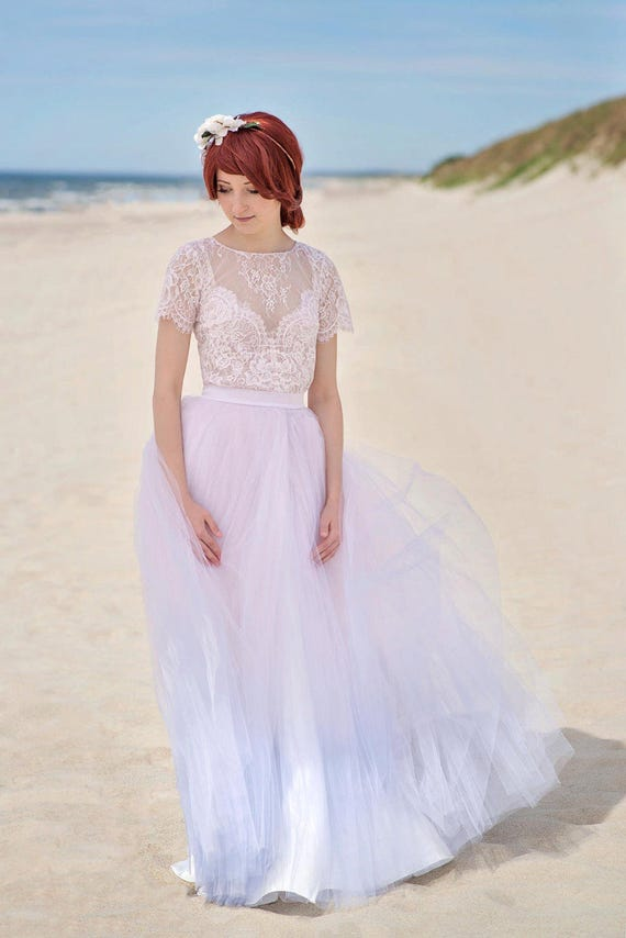 Serenity - ombre wedding dress