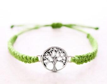 Tree of Life Bracelet - Hemp Bracelet - Hemp Jewelry