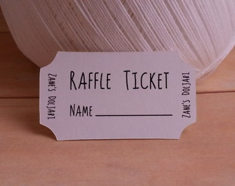 Raffle Tickets, Raffle Tickets, Raffle Tickets, Custom Unique Raffle Tickets, Set of 24
