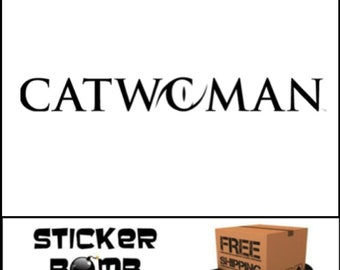 Catwoman Decal Cat Woman Sticker DC Comics JDM Girl