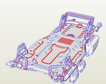 Overwatch Event Boat Model